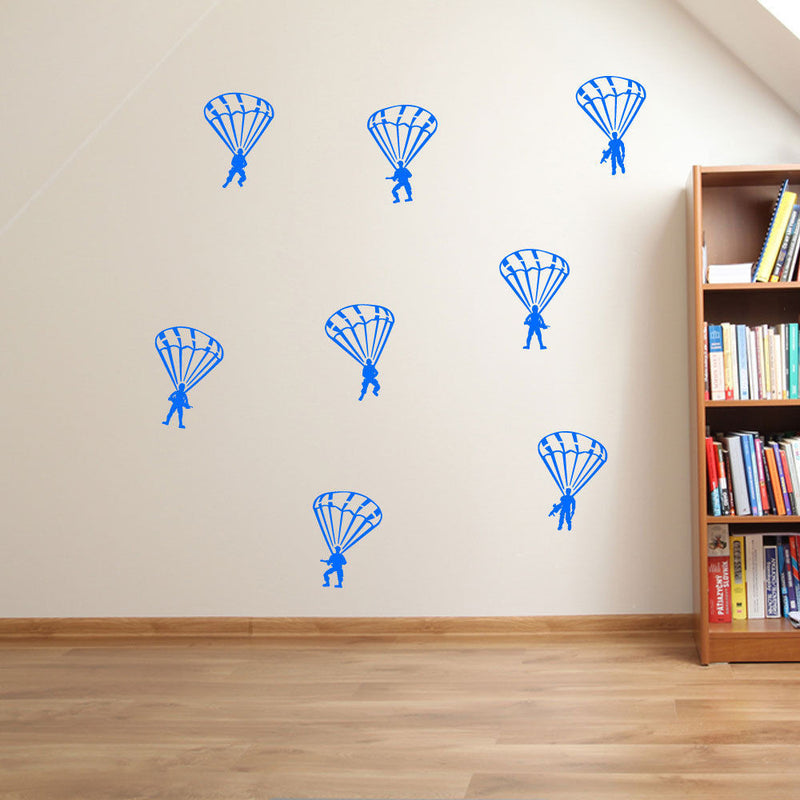 Military SAS Paratrooper Wall Stickers A47