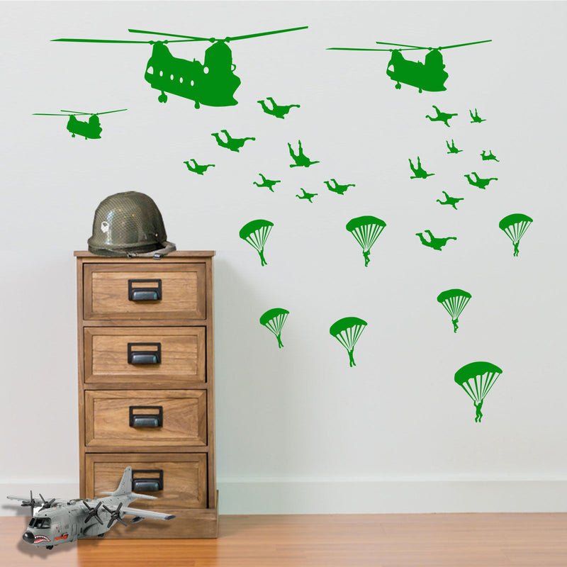 Military Parachute Army Men A5