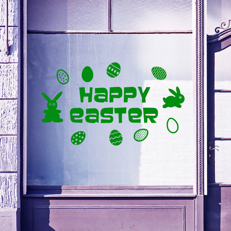 Happy Easter Sticker A79