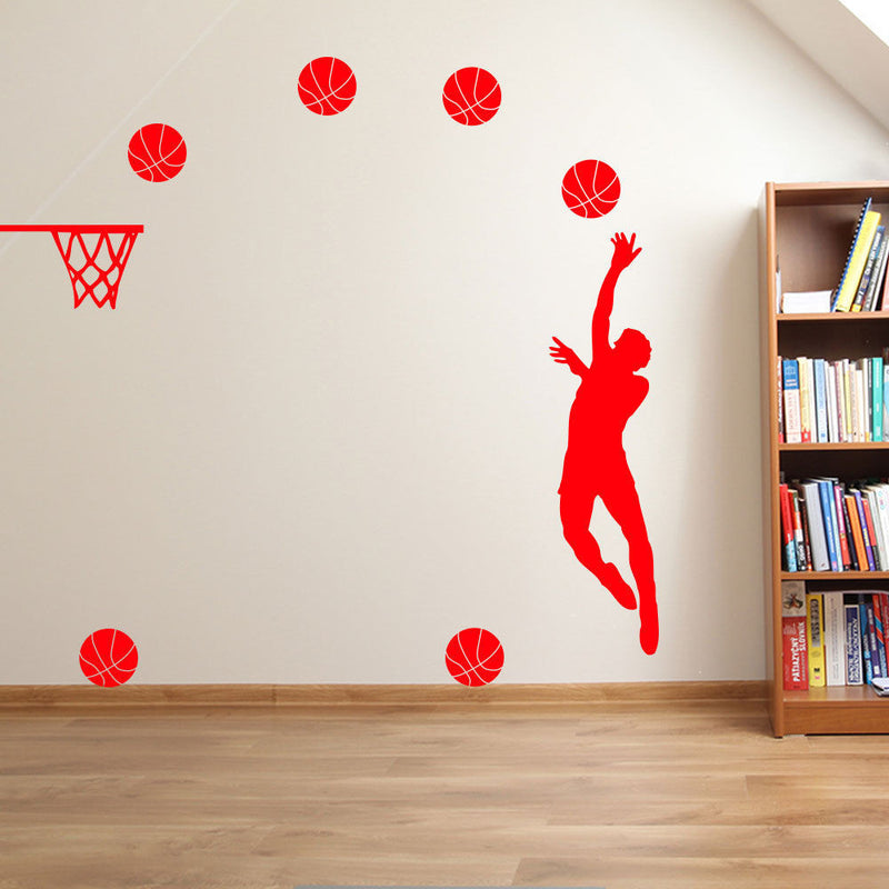 Basketball Player Hoop A35