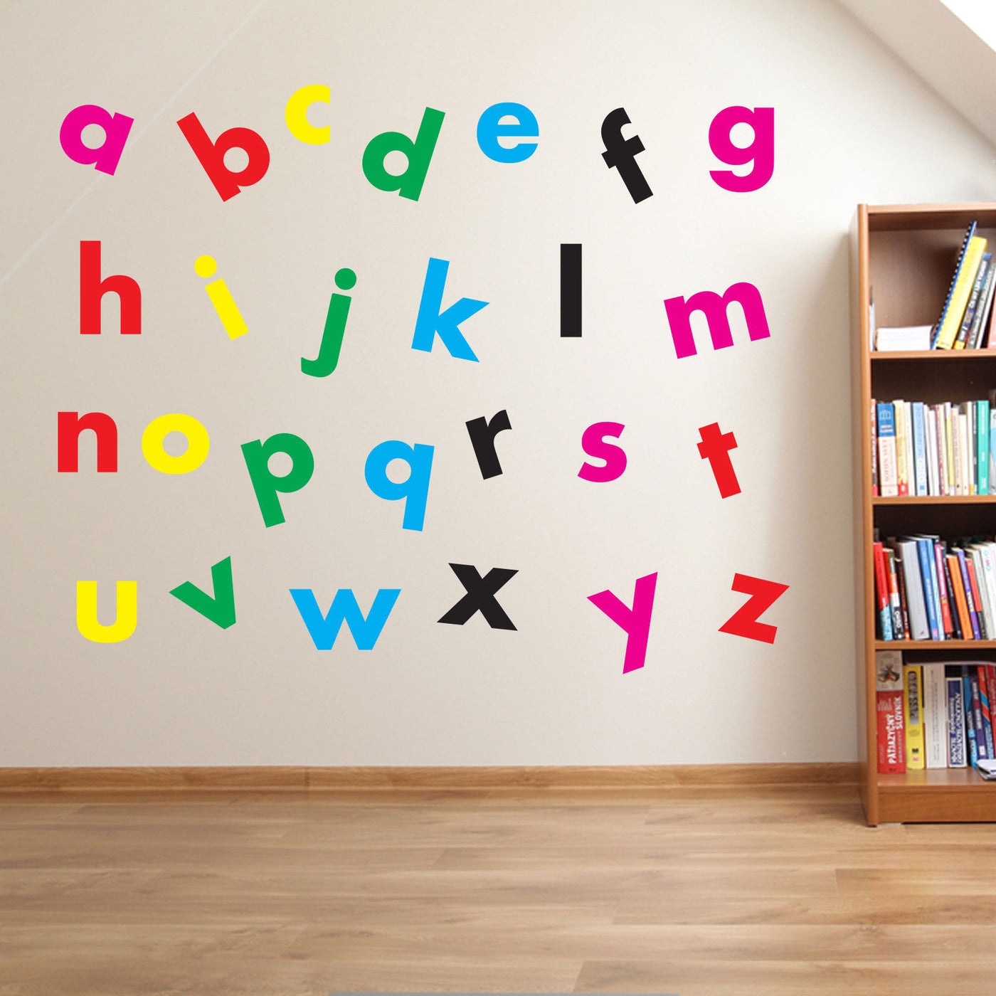 Alphabet Letters For Wall Buy Vinyl Alphabet Writing Wall Stickers  Vinyl Concept