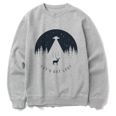 Let's get lost SWEATSHIRT