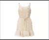 Ruffle Beige Dress