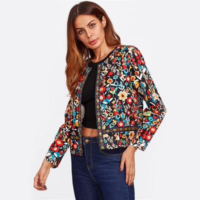 Flower Suit Jacket