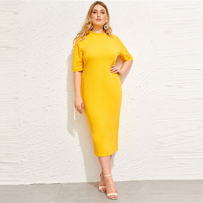 Plus Size Long Dress