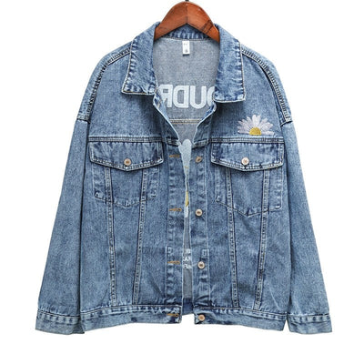 Evoudrais Denim Jacket - Blue