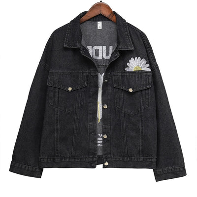 Evoudrais Denim Jacket - Black