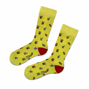 Fast Food Socks - Mr. Fibs Socks