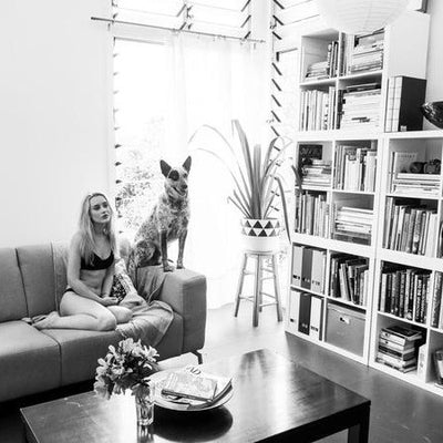 At home with Georgah - BTS