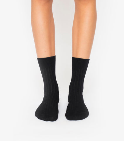 Basic Socks - Black 3 Pack