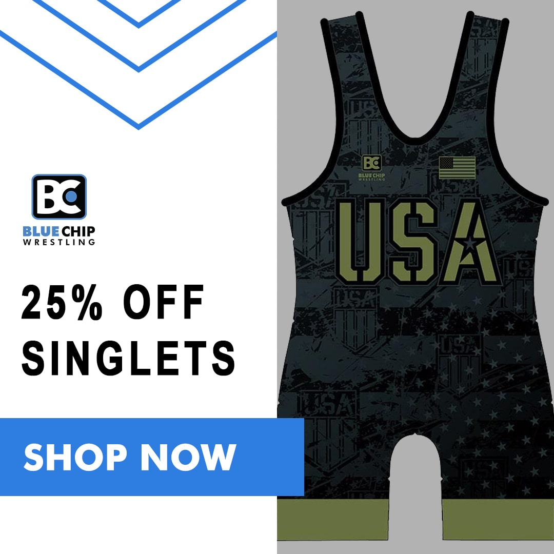 Blue Chip Wrestling Singlets