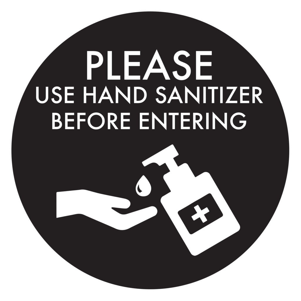 Hand Sanitizer BLACK