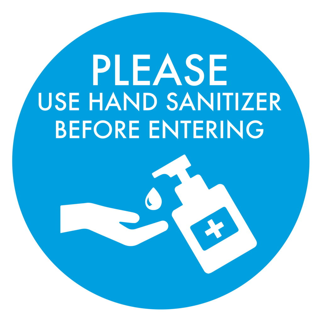 Hand Sanitizer BLUE