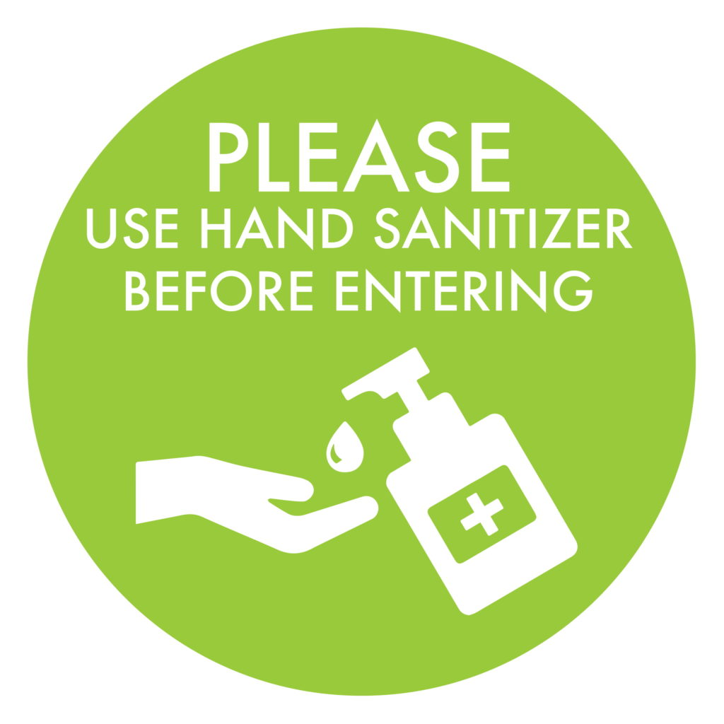 Hand Sanitizer Green