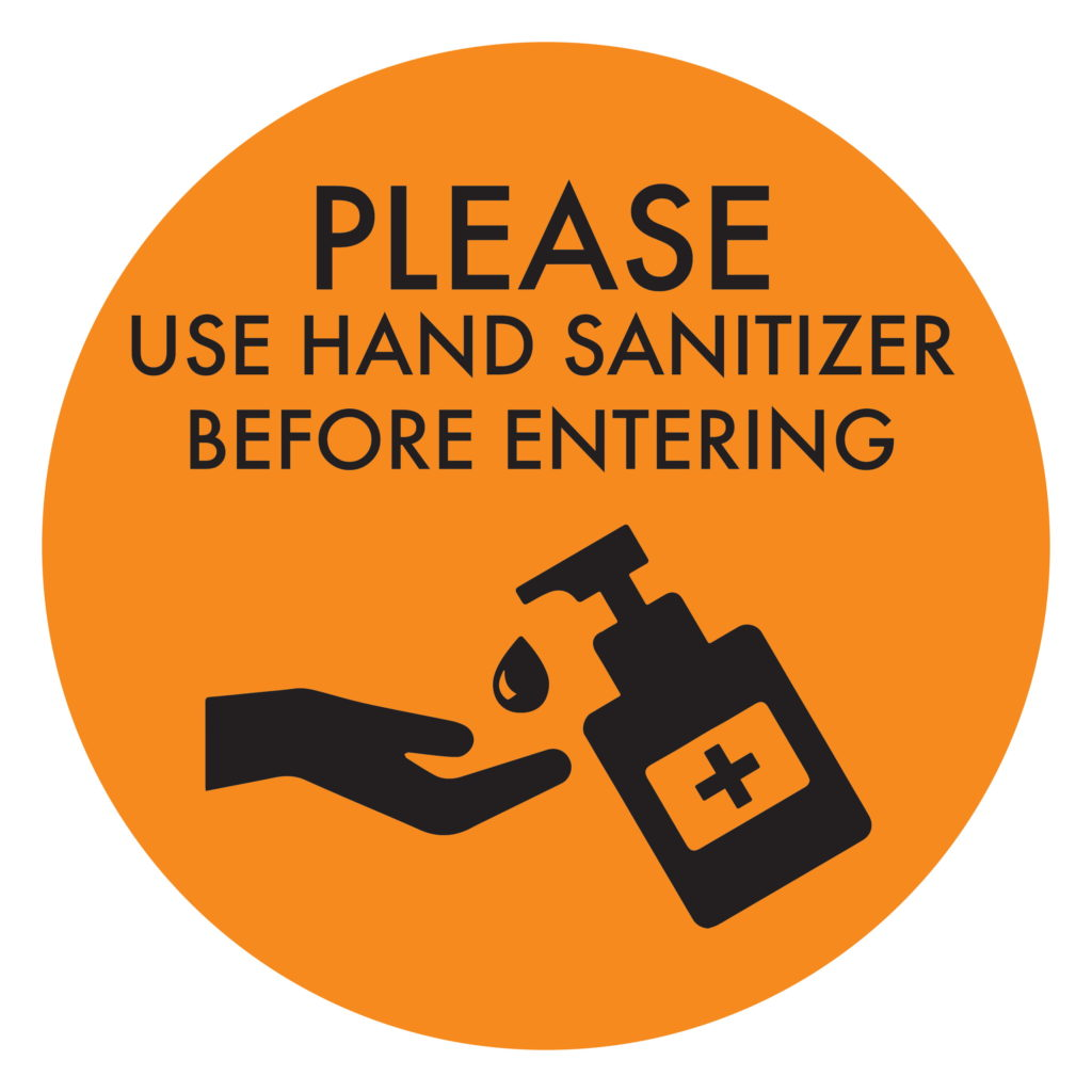 Hand Sanitizer ORANGE