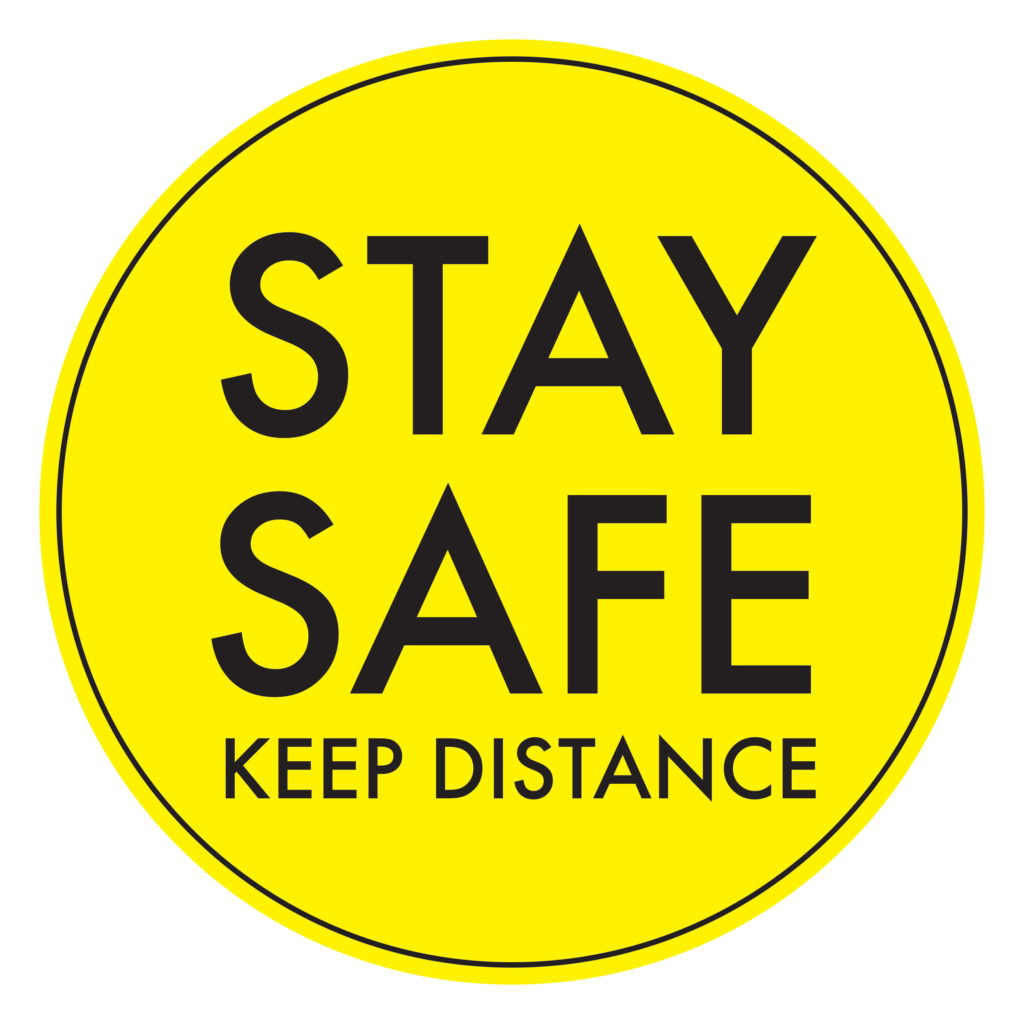 Stay Safe YELLOW