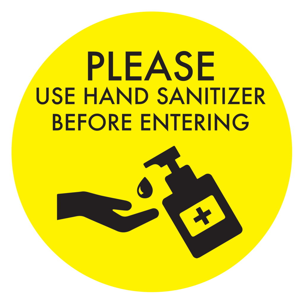 Hand Sanitizer YELLOW