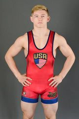 Blue Chip Wrestling Singlet
