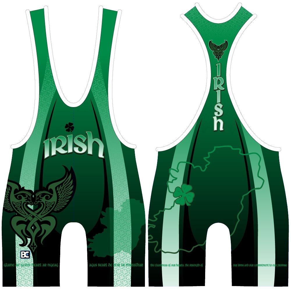 Made 4 U Lucky Irish Singlet