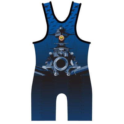 Made 4 U California Destroyer Wrestling Singlet