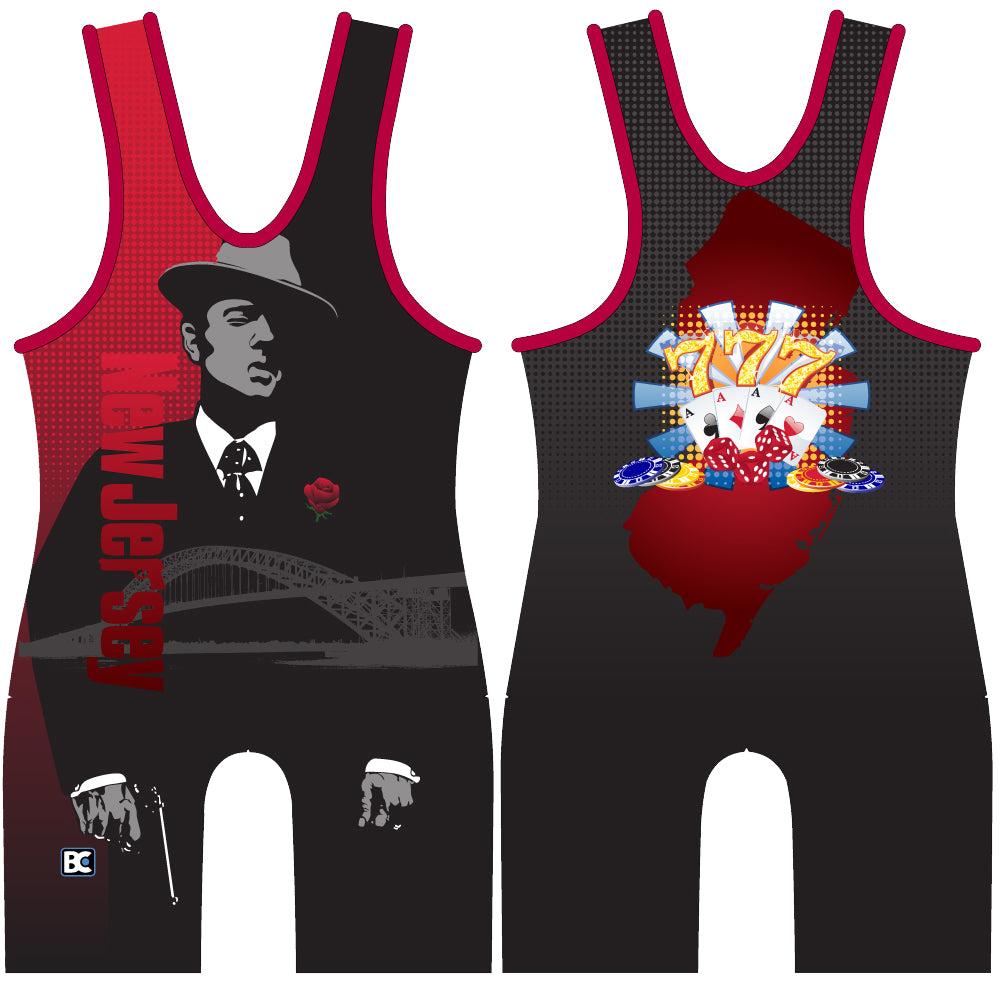 Made 4 U New Jersey Godfather Singlet
