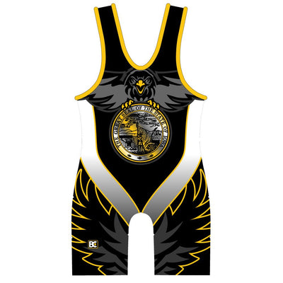 Made 4 U Iowa V3.0 Wrestling Singlet