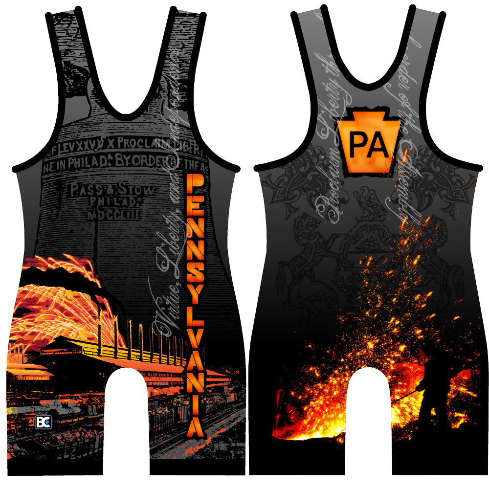 Made 4 U Pennsylvania Ignite Wrestling Singlet