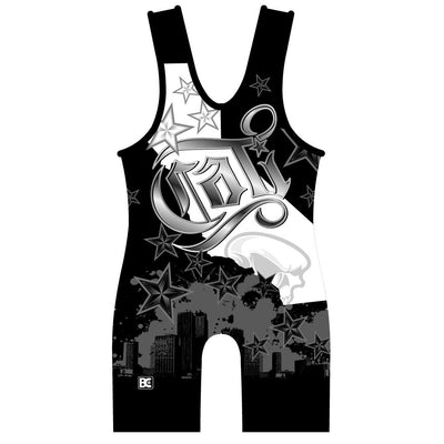 Made 4 U California Cali Wrestling Singlet