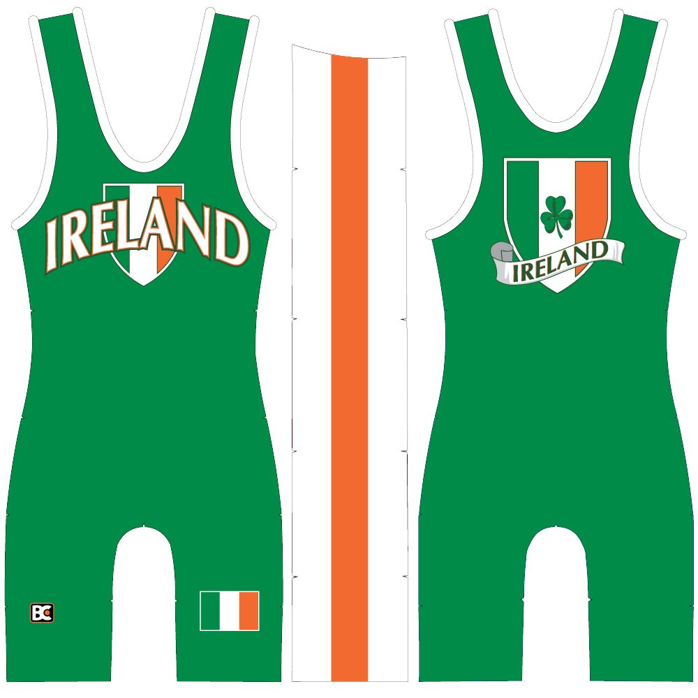 Made 4 U Ireland Wrestling Singlet