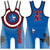 Made 4 U Texas Hero Wrestling Singlet