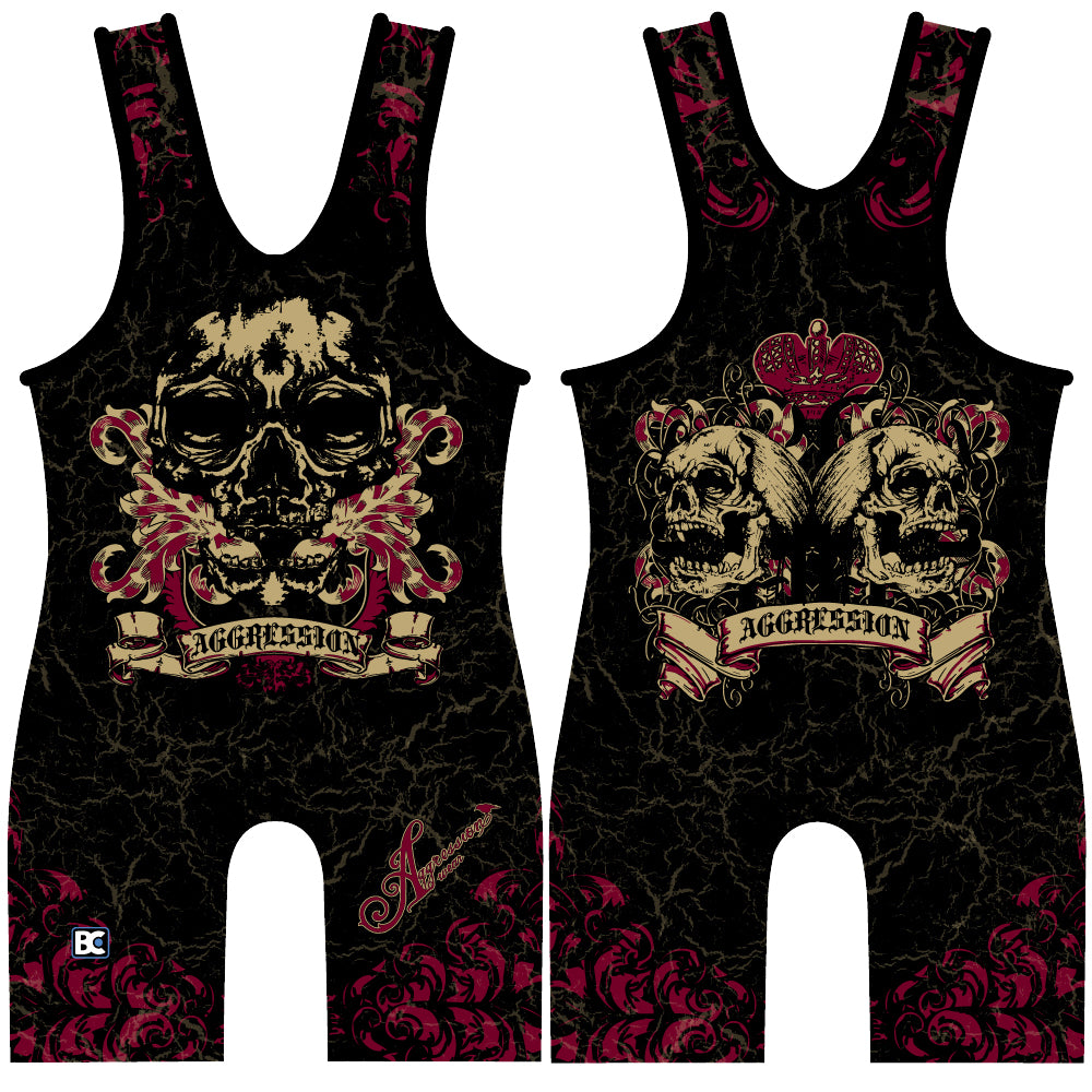 Made 4 U Reflection Wrestling Singlet