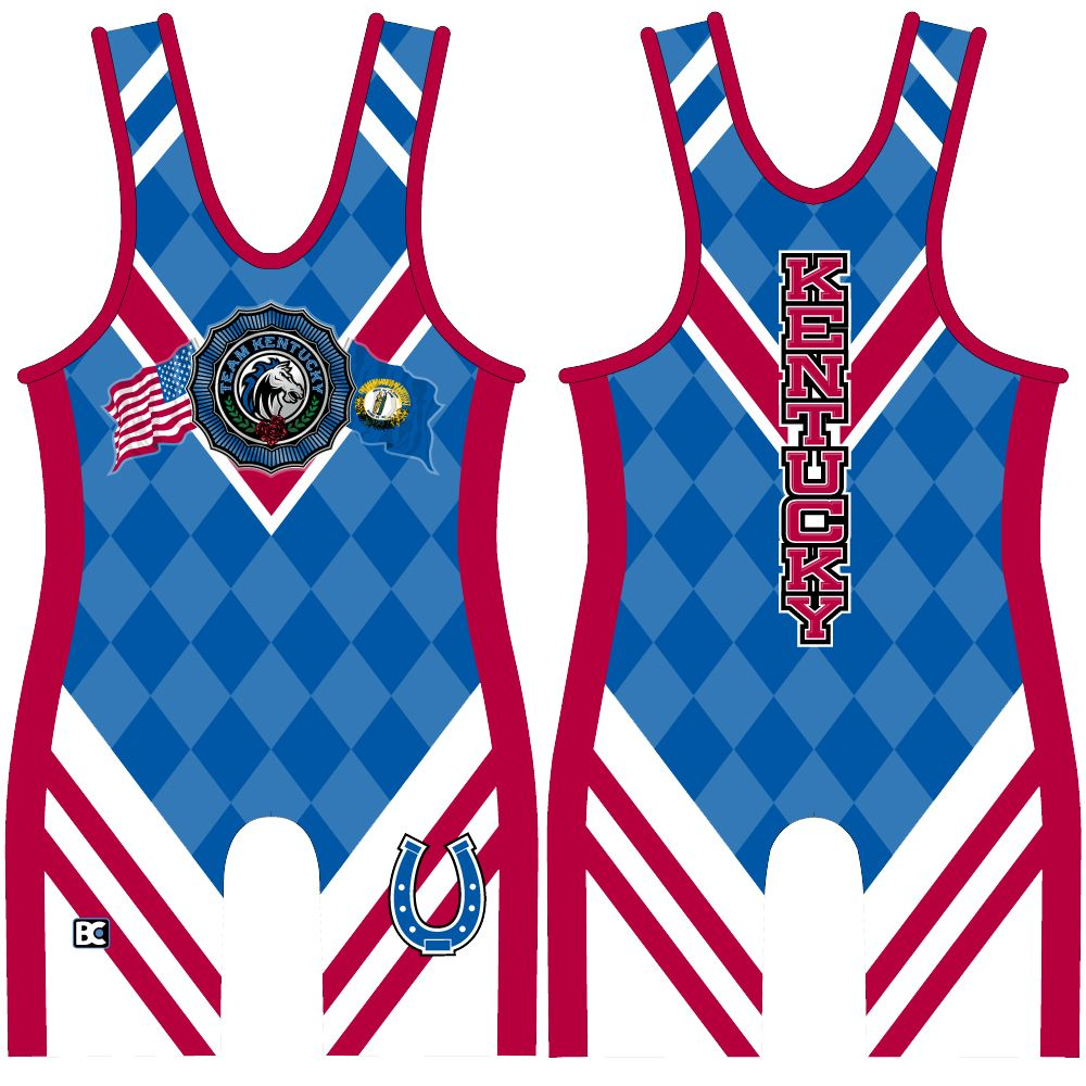 Made 4 U Kentucky Wrestling Singlet