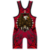 Made 4 U Red USA Triumph Wrestling Singlet