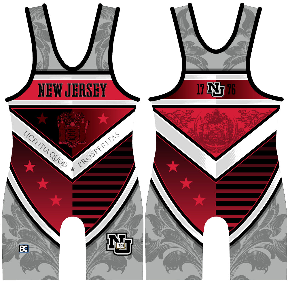 Made 4 U New Jersey Ivy Wrestling Singlet
