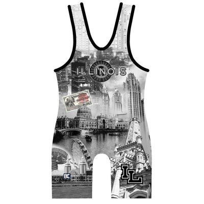 Made 4 U Illinois Emerge Wrestling Singlet