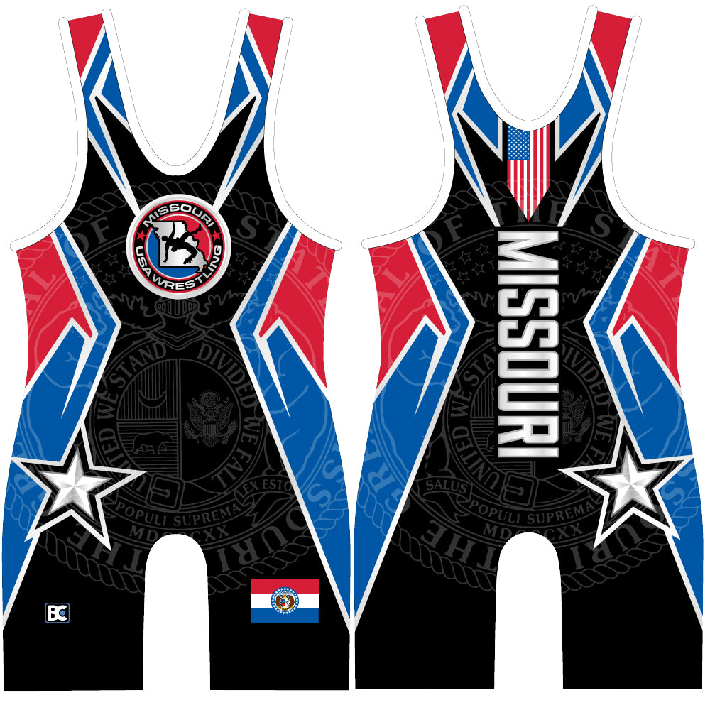 Made 4 U Missouri USA Wrestling Singlet