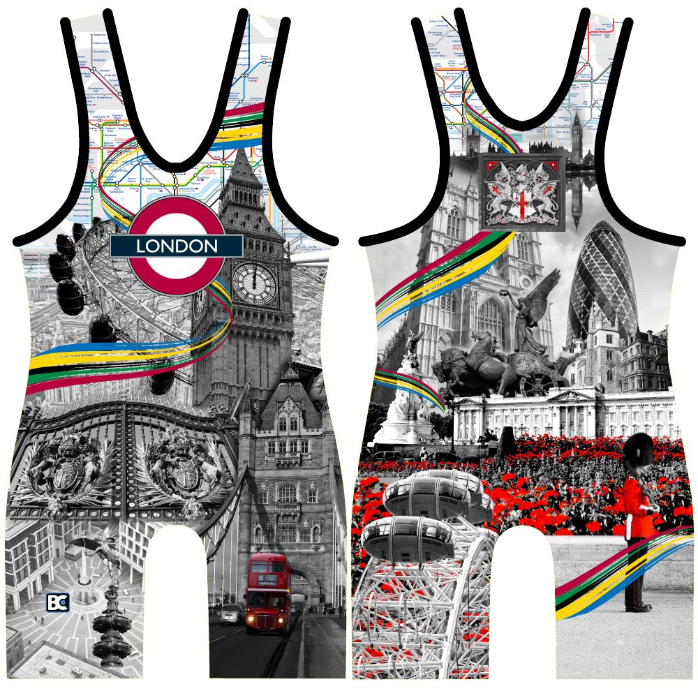 Made 4 U London Wrestling Singlet