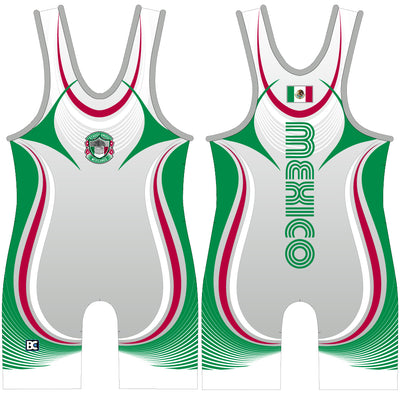 Made 4 U Mexico Magnifico Wrestling Singlet