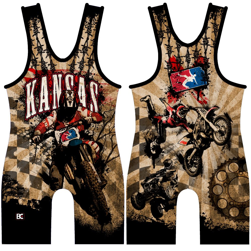 Made 4 U Kansas Clutch Singlet