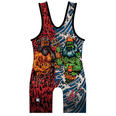 Made 4 U Greek God Wrestling Singlet