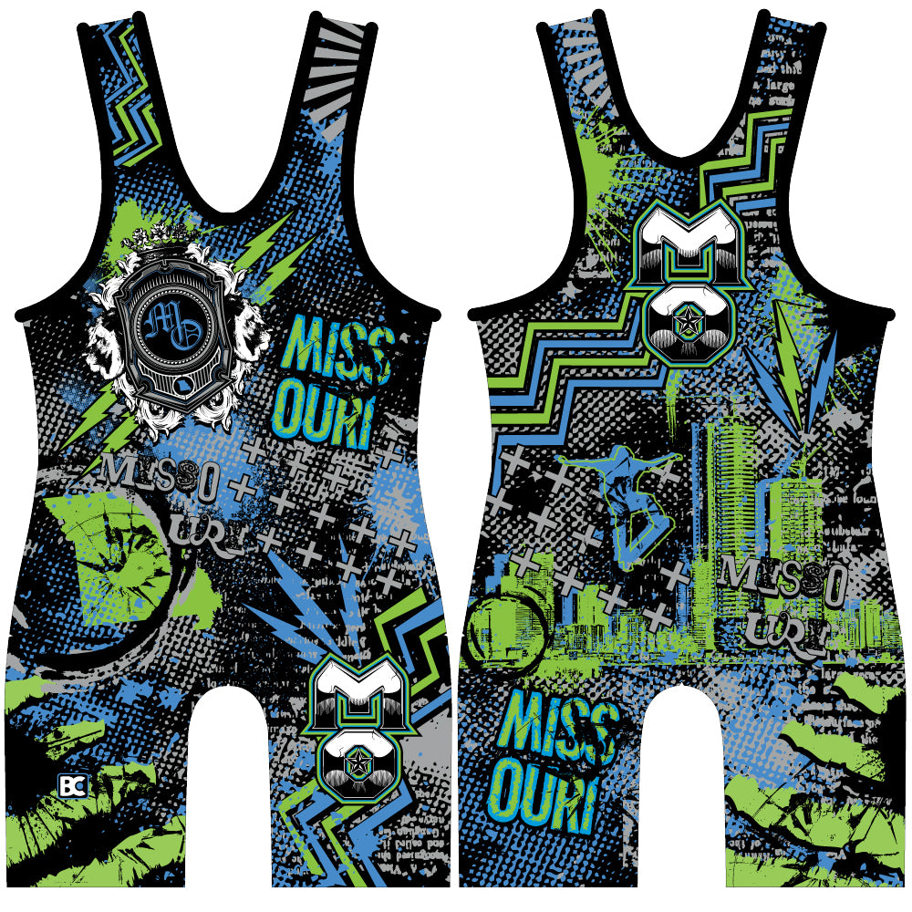 Made 4 U Missouri Nose Grind Singlet