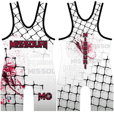 Made 4 U Missouri Submission Singlet
