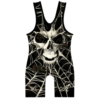Black Widow Wrestling Singlet