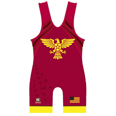 Made in America Wrestling Singlet (Red)