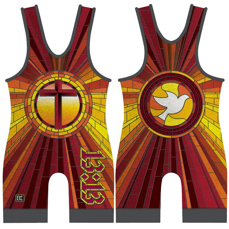 Made 4 U 13:13 (Love) Wrestling Singlet