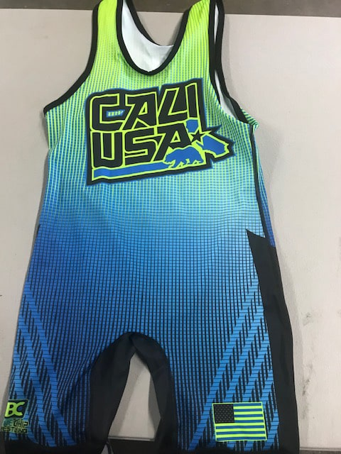 2016 California Singlet - Blue