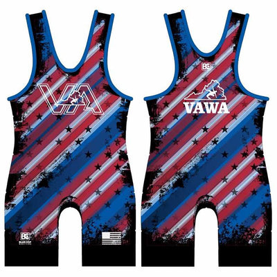 2017-18 Virginia USA Wrestling Singlet