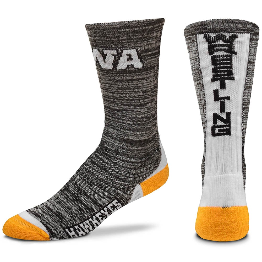 Iowa Hawkeyes Vortex Wrestling Socks