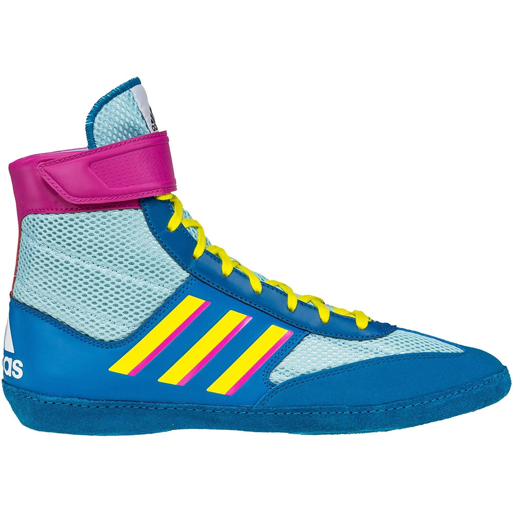 Adidas Combat Speed 5 (Aqua / Yellow / Teal)