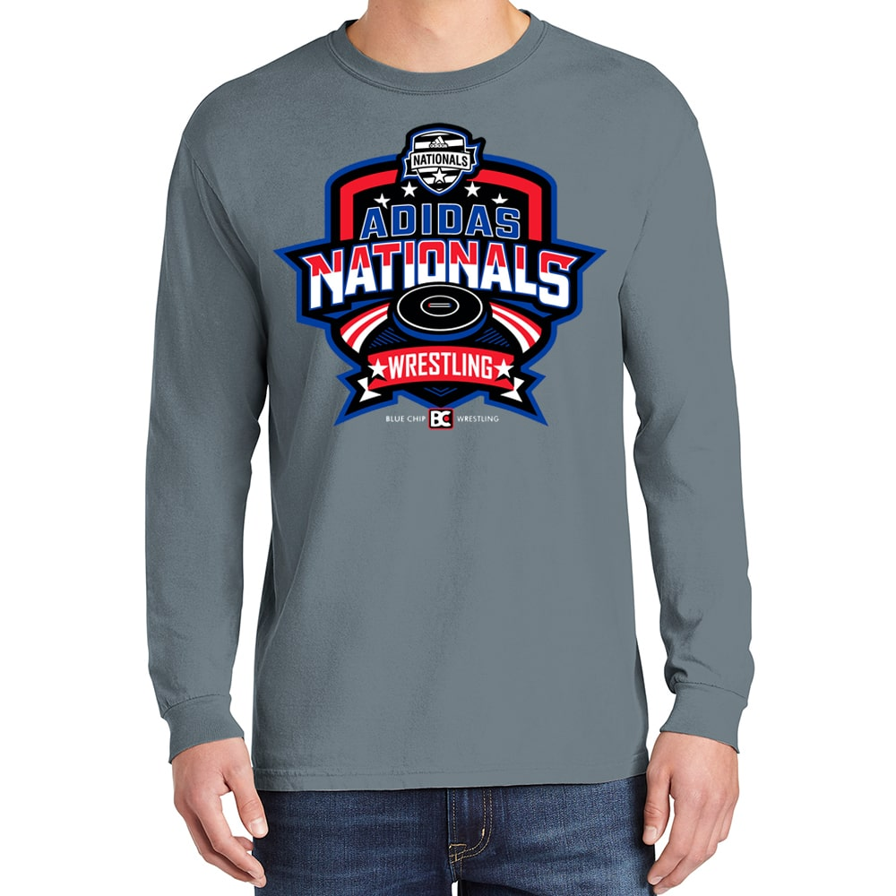 2021 Adidas Nationals Event Long Sleeve Tee